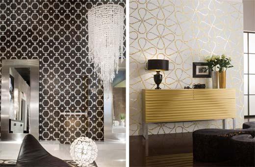 Керамическая плитка на стене в гостиной фото