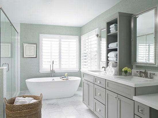 Ванная комната в морском стиле фото