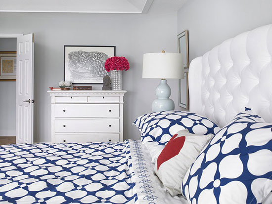 Спальня в морском стиле фото