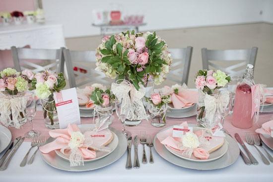 Декор свадебного стола фото