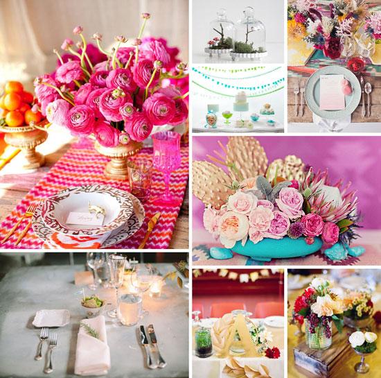 Как украсить свадебный стол: идеи