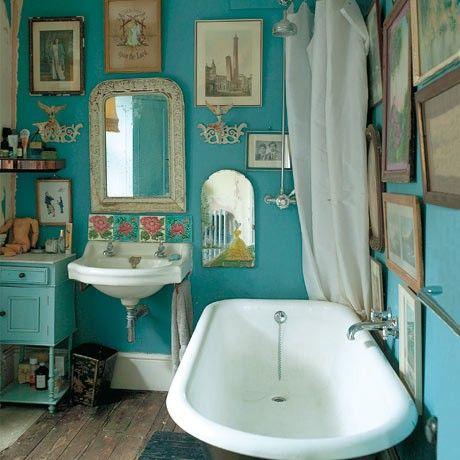 Ванная комната в стиле бохо