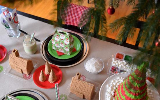Украшение детского стола к празднику фото
