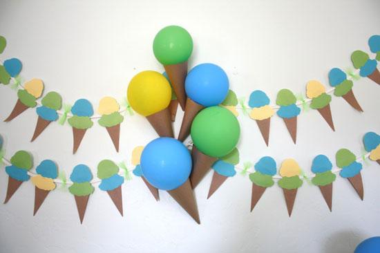 Украшения из воздушных шаров к празднику