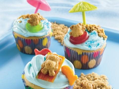 Яркие закуски на детском праздничном столе