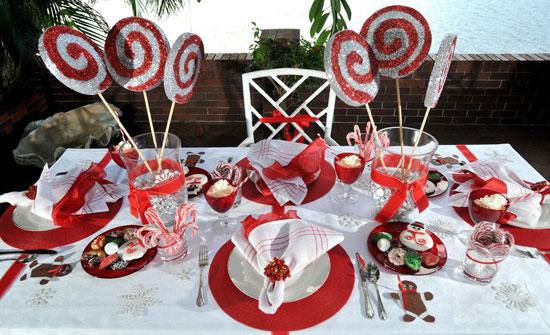 Детские украшения на праздничный стол