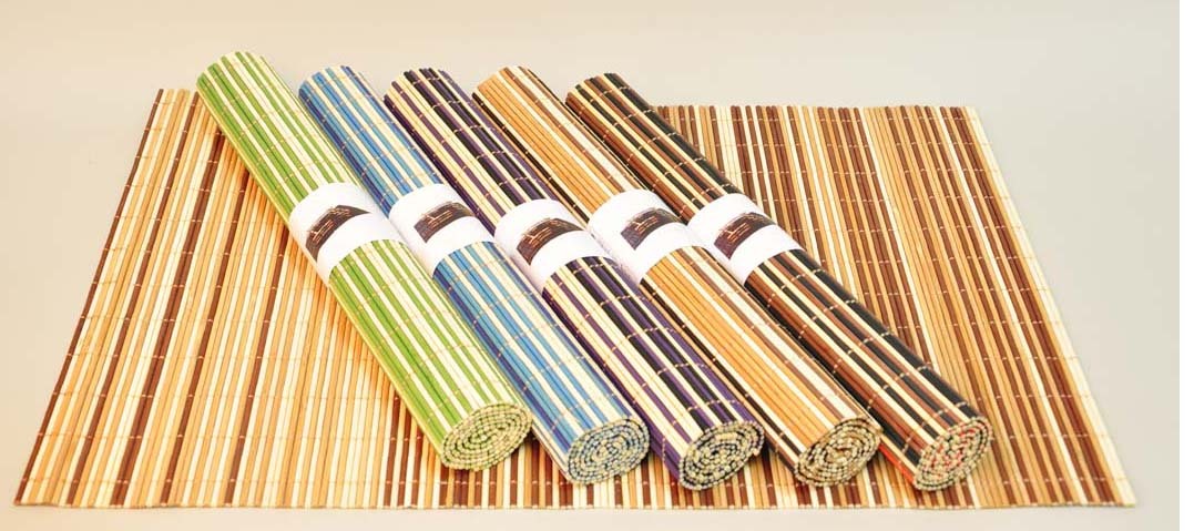 Бамбуковая салфетка для фоторамки