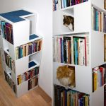Фото 56: Полочки для кошки в шкафу