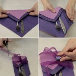 Фото 98: Как сделать карман для приборов из салфеток