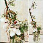 Фото 27: Новогодняя икебана