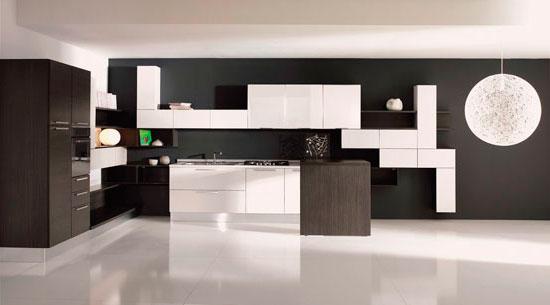 Цвет венге способен облагородить любой материал для кухонной столешницы