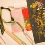 Фото 52: Закладка с гербарием