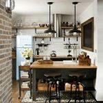 Фото 46: Маленькая кухня в стиле лофт