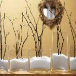 Фото 47: Новогодние украшения вазы с солью и веточками
