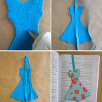 Фото 38: Платье из фетра на ленточке
