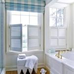 Фото 201: Туалет с римскими шторами