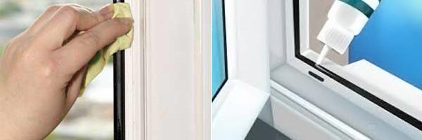 Уход за уплотнителями пластиковых окон
