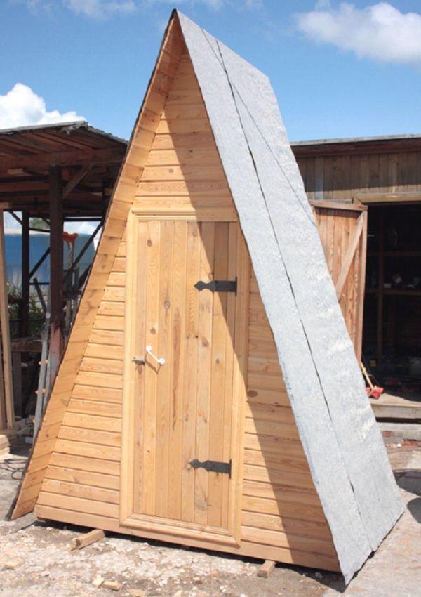 готовый туалет на даче