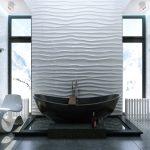 Фото 24: 3Д панели для ванной в стиле волны