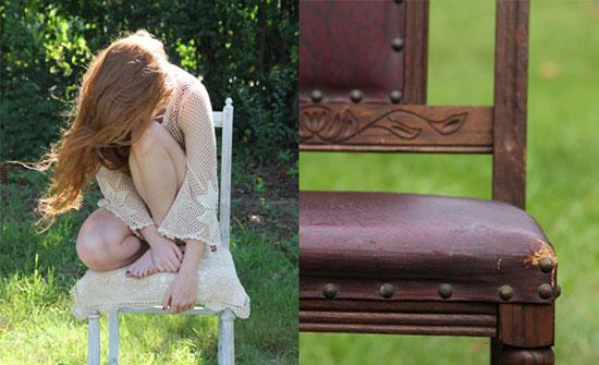 Поделки своими руками для дачи: мастер-класс по восстановлению старого стула