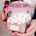 Фото 26: Новогодний подарок Набор для какао в баночке
