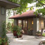 Фото 35: Расположение летней кухни около дома
