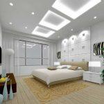 Фото 37: Использование гипсокартонных потолков в современном дизайне спальни