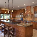 Фото 31: Кухонная медная вытяжка