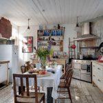 Фото 33: Интерьер зимней летней кухни