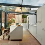 Фото 34: Летняя кухня в стиле хай-тек