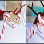 Фото 27: Новогодний подарок олени из леденцов