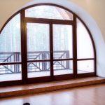 Фото 45: Откосы на арочное окно