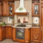 Фото 49: Роспись кухонной вытяжки в деревенском стиле