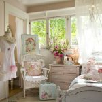 Фото 41: Дизайн спальни в стиле шебби-шик
