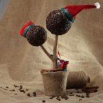 Фото 43: Украшение кофейноготопиария к Новому Году
