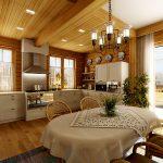 Фото 54: Вытяжка в деревянном доме