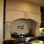 Фото 57: Дизайн вытяжки под печь