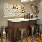 Фото 31: Барная стойка для кухни высокая
