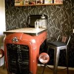 Фото 37: Барная стойка для кухни из машины