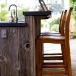 Фото 23: Барная стойка для кухни со стульями