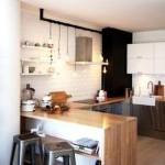 Фото 26: Барная стойка для кухни модерн
