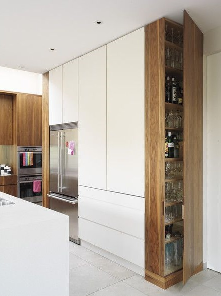 Модерн встроенная кухня
