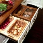 Фото 10: Ящик для овощей встроенная кухня