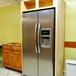Фото 12: Холодильник встроенная кухня