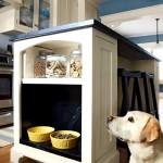 Фото 20: Собака на встроенной кухне
