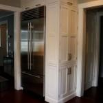 Фото 26: Холодильник во встроенной кухне