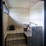 Фото 7: Баня с маленьким прямоугольным окном