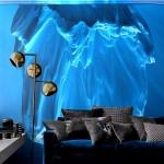 Фото 31: Фотообои айсберг в гостиной