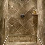 Фото 1: Медный кафель для ванной комнаты