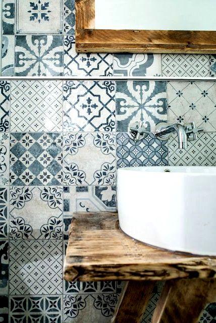 Глазурованная плитка для ванной комнаты